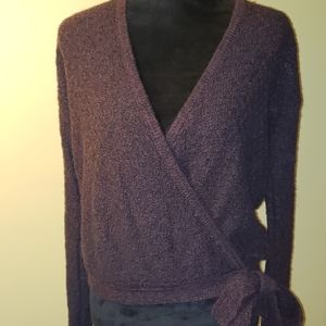Hollister Burgundy/Purple-ish Sweater